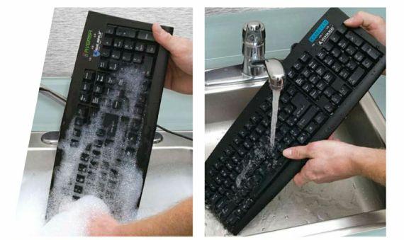 Washable & Antimicrobial Computer Keyboard